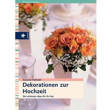 Buch Dekorationen zur Hochzeit