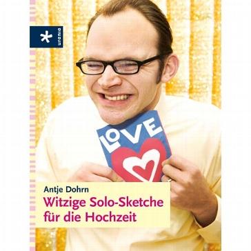 """Buch """"Witzige Solo-Sketche für die Hochzeit"""""""