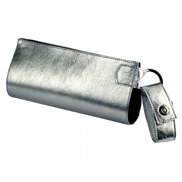"Clutch ""Brillante"", silber"