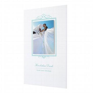 Dankeskarte zur Hochzeit Adriana