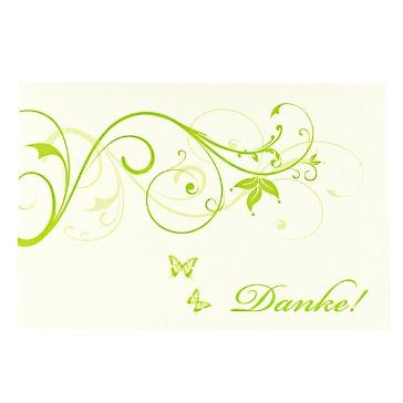 """Dankeskarte """"Denise"""" zur Hochzeit"""