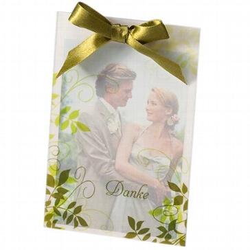 Dankeskarte Sylvia - Danksagung nach der Hochzeit