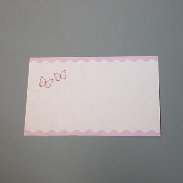 Danksagungskarte Friederike