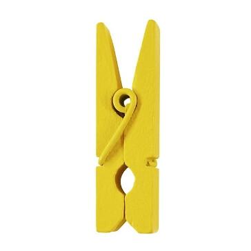 Dekoklammern-24-gelb