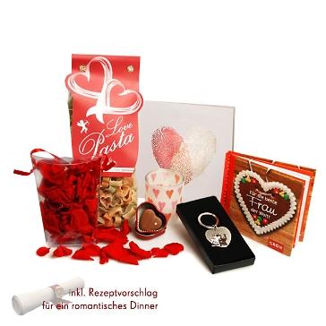 """Dinner-Paket """"Valentinstag"""" für SIE"""
