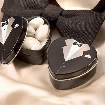 Döschen Bräutigam für Gastgeschenke