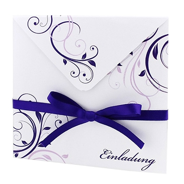 """Hochzeitseinladung """"Violet"""""""