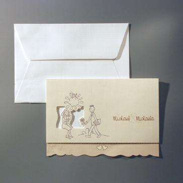 """Einladungskarte """"Nuri"""""""