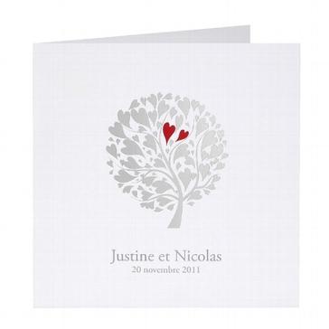 """Einladungskarte """"Ariane"""" für die Hochzeit"""