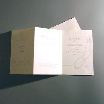 Einladungskarte Elwira