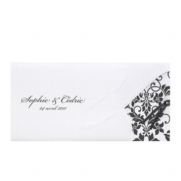 """Einladungskarte """"Aylin"""" für die Hochzeit"""