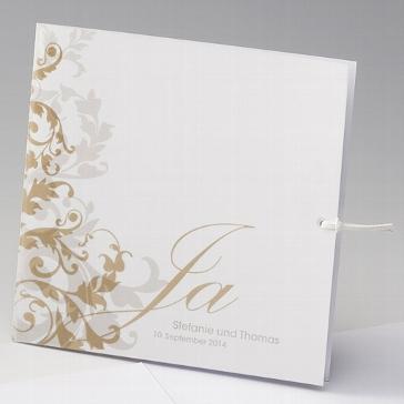 """Einladungskarte """"Becky"""" für Ihre Hochzeit"""