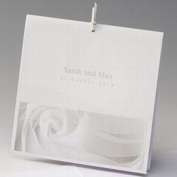 """Einladungskarte """"Candida"""" für Ihre Hochzeit"""