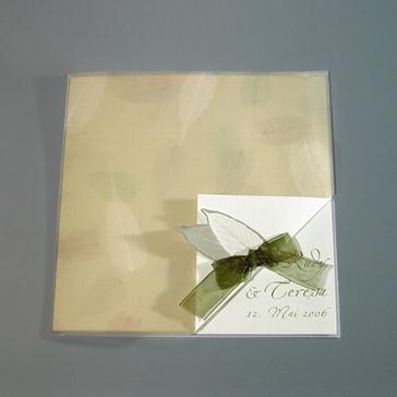 Einladungskarte Christiane