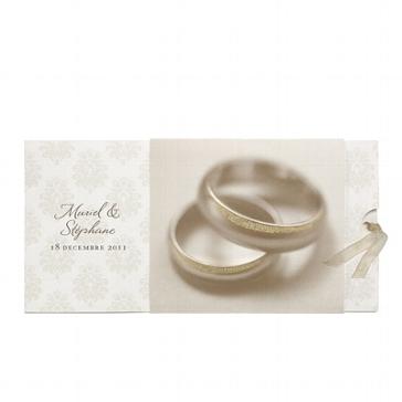 """Einladungskarte """"Cindy"""" als Hochzeitseinladung"""