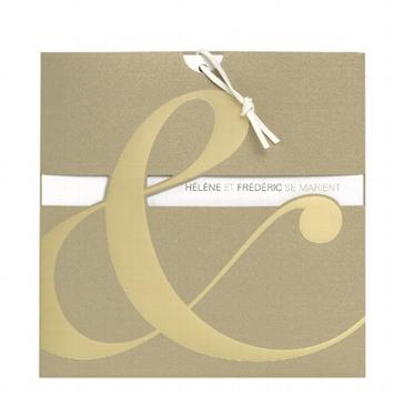 """Einladungskarte """"Fanny"""" für die Hochzeit"""