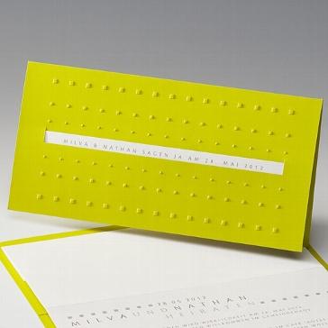 """Einladungskarte """"Gesina"""""""
