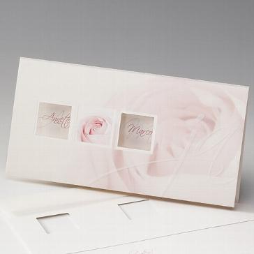"""Einladungskarte """"Hadice"""" als Hochzeitseinladung"""