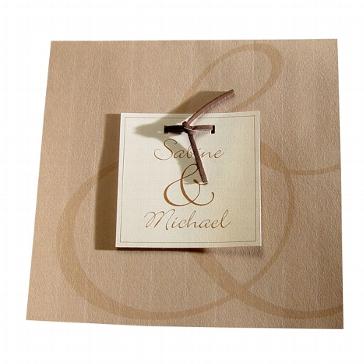 """Einladungskarte """"Heidi"""" zur Hochzeit"""