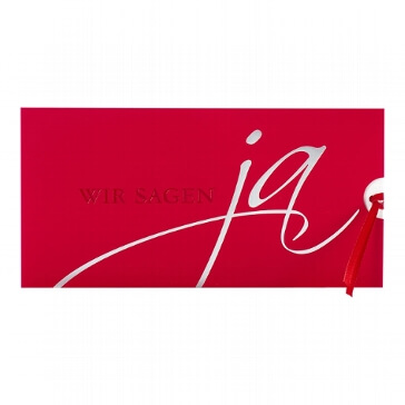 Einladungskarte Ida