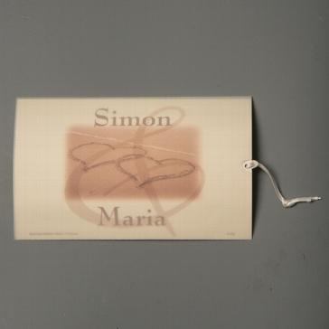 """Einladungskarte """"Ilona"""""""