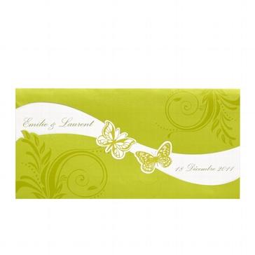 """Einladungskarte """"Lea"""" für die Hochzeit"""