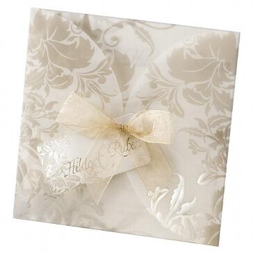 Einladungskarte Lola - verspielte Hochzeitseinladung