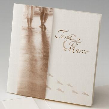 """Einladungskarte """"Lucille"""" - nostalgische Hochzeitseinladung"""