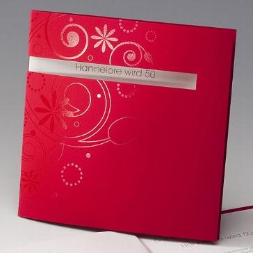 """Einladungskarte """"Ludmilla"""""""