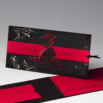 """Einladungskarte """"Madeleine"""" - trendy Hochzeitskarte"""
