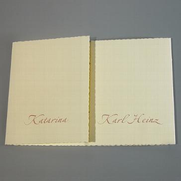 Einladungskarte Magdalena