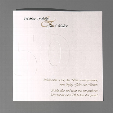 Einladungskarte Margarete