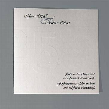 Einladungskarte Mathilde