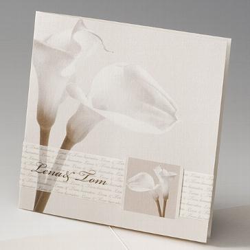 """Einladungskarte """"Nanni"""" - moderne Hochzeitskarte"""