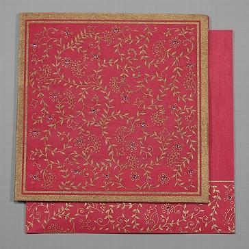 """Einladungskarte """"Shanti"""", pink"""