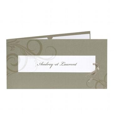"""Einladungskarte """"Swenja"""" für Ihre Hochzeit"""
