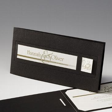 """Einladungskarte """"Traudl"""" - Einladung zur Hochzeit"""