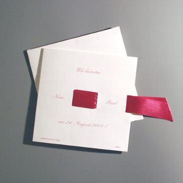 """Einladungskarte """"Zweti"""""""