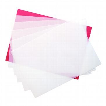 Transparente Einleger für Karten B6