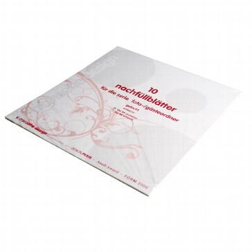 Ersatzblätter für Gästebücher Toulouse chamois