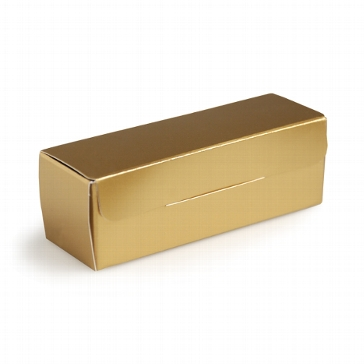 """Faltschachtel """"Glänzend"""" gold"""