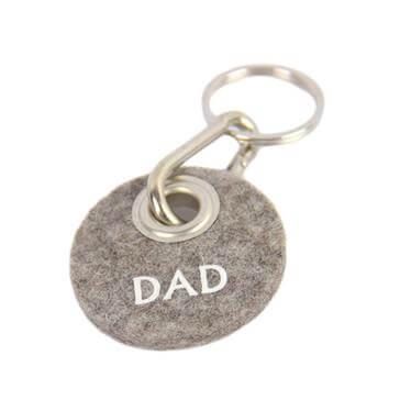 "Filz-Schlüsselanhänger ""Dad"""