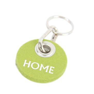 Filz-Schlüsselanhänger Home