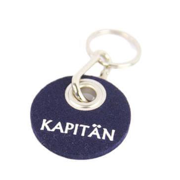 Filz-Schlüsselanhänger Kapitän