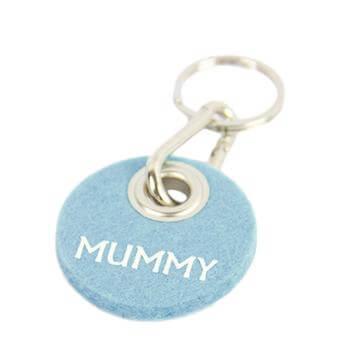 """Filz-Schlüsselanhänger """"Mummy"""""""