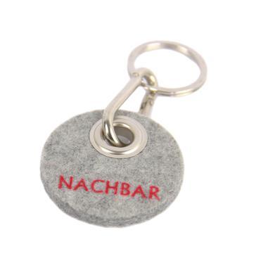 """Filz-Schlüsselanhänger """"Nachbar"""""""