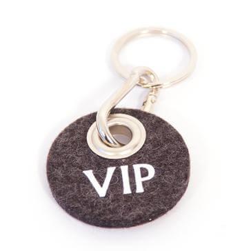 Filz-Schlüsselanhänger VIP