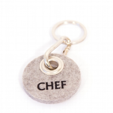 Filz-Schlüsselanhänger Chef