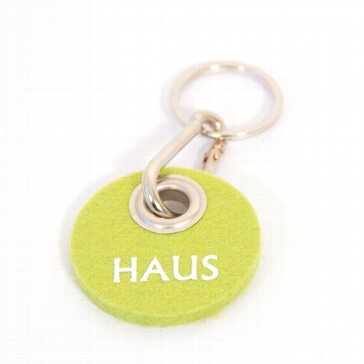 "Filz-Schlüsselanhänger ""Haus"""