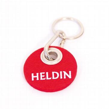 "Filz-Schlüsselanhänger ""Heldin"""
